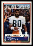 1983 Topps #83  James Lofton  Front Thumbnail