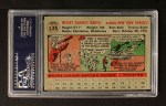 1956 Topps #135  Mickey Mantle  Back Thumbnail