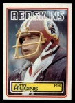 1983 Topps #198  John Riggins  Front Thumbnail