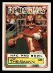 1983 Topps #199  Joe Theismann  Front Thumbnail