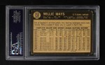 1964 Topps Venezuelan #150  Willie Mays  Back Thumbnail
