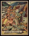 1941 Gum Inc. War Gum #50   Ex-Football Star Is Death To Japanese Front Thumbnail