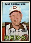 1967 Topps #21  Dave Bristol  Front Thumbnail