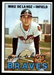 1967 Topps #372  Mike de la Hoz  Front Thumbnail