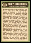 1967 Topps #199  Billy Hitchcock  Back Thumbnail
