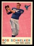 1959 Topps #128  Bob Schnecker  Front Thumbnail