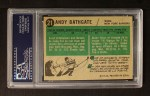 1958 Topps #21  Andy Bathgate  Back Thumbnail
