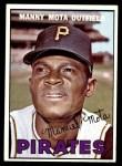 1967 Topps #66  Manny Mota  Front Thumbnail