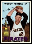 1967 Topps #221  Woody Fryman  Front Thumbnail