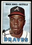 1967 Topps #435  Mack Jones  Front Thumbnail