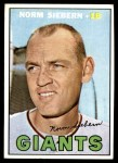 1967 Topps #299  Norm Siebern  Front Thumbnail