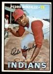 1967 Topps #424  Pedro Gonzalez  Front Thumbnail