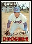 1967 Topps #330  Claude Osteen  Front Thumbnail