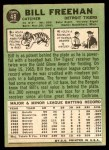 1967 Topps #48  Bill Freehan  Back Thumbnail