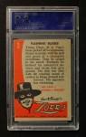 1958 Topps Zorro #3   Flashing Blades Back Thumbnail