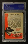 1958 Topps Zorro #50   Work Slave Back Thumbnail