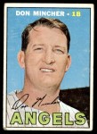 1967 Topps #312  Don Mincher  Front Thumbnail