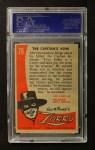 1958 Topps Zorro #79   The Capitans Vow Back Thumbnail