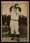 1952 Berk Ross  Eddie Lopat  Front Thumbnail