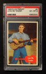 1956 Topps / Bubbles Inc Elvis Presley #4   Love Me Tender Front Thumbnail