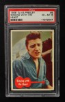 1956 Topps / Bubbles Inc Elvis Presley #8   Singing with the Heart Front Thumbnail