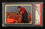 1956 Topps / Bubbles Inc Elvis Presley #33   Show for the Hometown Front Thumbnail