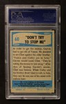 1956 Topps / Bubbles Inc Elvis Presley #60   Don't Try to Stop Me Back Thumbnail