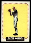 1964 Topps #130  Dick Wood  Front Thumbnail