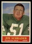 1964 Philadelphia #137  Jim Schrader   Front Thumbnail