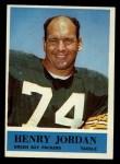 1964 Philadelphia #75  Hank Jordan  Front Thumbnail