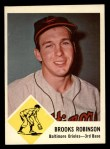 1963 Fleer #4  Brooks Robinson  Front Thumbnail