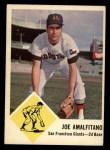 1963 Fleer #36  Joe Amalfitano  Front Thumbnail