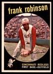 1959 Topps #435  Frank Robinson  Front Thumbnail