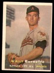 1957 Topps #13  Wally Burnette  Front Thumbnail