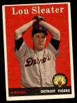1958 Topps #46 WN Lou Sleater  Front Thumbnail