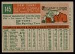 1959 Topps #145  Dom Zanni  Back Thumbnail