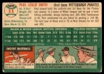 1954 Topps #11  Paul Smith  Back Thumbnail