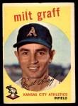 1959 Topps #182  Milt Graff  Front Thumbnail
