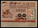 1958 Topps #68  Daryl Spencer  Back Thumbnail
