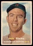 1957 Topps #169  Herb Plews  Front Thumbnail