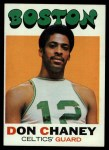 1971 Topps #82  Don Chaney   Front Thumbnail