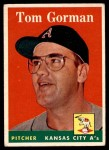 1958 Topps #235  Tom Gorman  Front Thumbnail