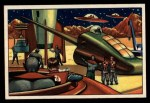 1951 Bowman Jets Rockets and Spacemen #23   Rocket Repair and Formula Q Front Thumbnail