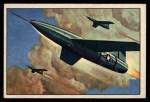 1951 Bowman Jets Rockets and Spacemen #36   Matador Front Thumbnail