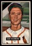 1951 Bowman #264  Don Richmond  Front Thumbnail