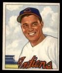 1950 Bowman #93  Gene Bearden  Front Thumbnail