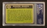 1961 Topps #576   -  Roger Maris All-Star Back Thumbnail