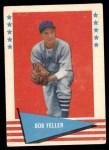 1961 Fleer #25  Bob Feller  Front Thumbnail