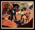 1949 Bowman Wild West #4 G  Lone Traveler, Beware! Front Thumbnail