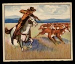 1949 Bowman Wild West #11 A  Lone Front Thumbnail
